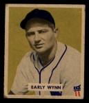 1949 Bowman #110  Early Wynn  Front Thumbnail