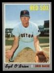 1970 Topps #163  Syd O'Brien  Front Thumbnail