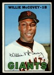 1967 Topps #480  Willie McCovey  Front Thumbnail