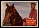 1956 Topps / Bubbles Inc Elvis Presley #58   Rescue Ride Front Thumbnail