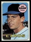 1969 Topps #183 ^COR^ Don Shaw  Front Thumbnail