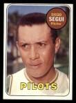 1969 Topps #511 ^YN^ Diego Segui  Front Thumbnail