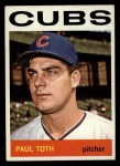 1964 Topps #309 ^COR^ Paul Toth  Front Thumbnail