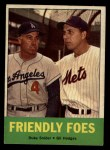 1963 Topps #68   -  Duke Snider / Gil Hodges Friendly Foes Front Thumbnail