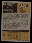 1971 Topps #157  Leroy Kelly  Back Thumbnail