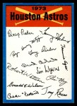 1973 Topps Blue Checklist   Astros Front Thumbnail