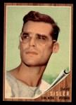 1962 Topps #171 GRN Dave Sisler  Front Thumbnail