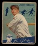 1934 Goudey #40  John Stone  Front Thumbnail
