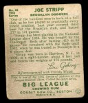 1934 Goudey #46  Joe Stripp  Back Thumbnail