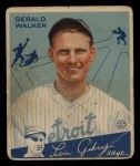1934 Goudey #26  Gerald Walker  Front Thumbnail