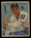 1934 Goudey #49  Sam Leslie  Front Thumbnail