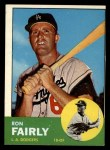 1963 Topps #105 ^xSTR^ Ron Fairly  Front Thumbnail