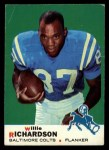 1969 Topps #5  Willie Richardson  Front Thumbnail