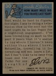 1956 Topps / Bubbles Inc Elvis Presley #30   Elvis the Actor Back Thumbnail