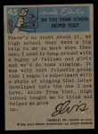 1956 Topps / Bubbles Inc Elvis Presley #45   Preparing to Go on Stage Back Thumbnail