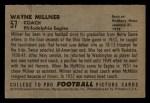 1952 Bowman Small #57  Wayne Millner  Back Thumbnail