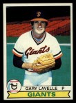 1979 Topps #311  Gary Lavelle  Front Thumbnail