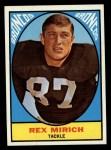 1967 Topps #32  Rex Mirich  Front Thumbnail