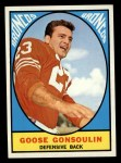 1967 Topps #34  Goose Gonsoulin  Front Thumbnail