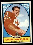 1967 Topps #34  Goose Gonsoulin  Front Thumbnail