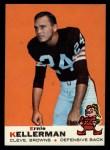 1969 Topps #96  Ernie Kellerman  Front Thumbnail