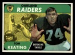 1968 Topps #116  Tom Keating  Front Thumbnail