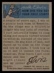 1956 Topps / Bubbles Inc Elvis Presley #1   Go Go Go Elvis Back Thumbnail