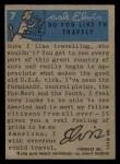 1956 Topps / Bubbles Inc Elvis Presley #7   Presley Press Conference Back Thumbnail