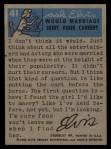 1956 Topps / Bubbles Inc Elvis Presley #41   Rockin' on Stage Back Thumbnail