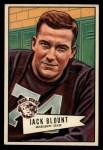 1952 Bowman Large #80  John Blount  Front Thumbnail