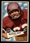 1952 Bowman Large #107  Maurice Nipp  Front Thumbnail