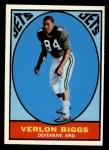 1967 Topps #91  Verlon Biggs  Front Thumbnail