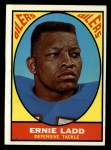 1967 Topps #58  Ernie Ladd  Front Thumbnail