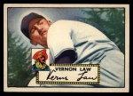 1952 Topps #81  Vern Law  Front Thumbnail