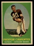 1958 Topps #128  Preston Carpenter  Front Thumbnail