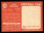 1958 Topps #130  Gordy Soltau  Back Thumbnail