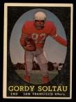 1958 Topps #130  Gordy Soltau  Front Thumbnail