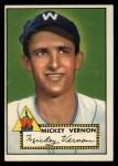 1952 Topps #106  Mickey Vernon  Front Thumbnail