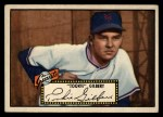 1952 Topps #61 BLK Tookie Gilbert  Front Thumbnail