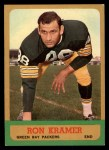 1963 Topps #92  Ron Kramer  Front Thumbnail