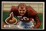 1951 Bowman #98  Jack Jennings  Front Thumbnail