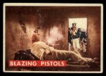 1956 Topps Davy Crockett #78 GRN  Blazing Pistols  Front Thumbnail