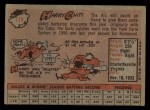1958 Topps #119  Harry Chiti  Back Thumbnail