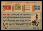 1955 Topps Rails & Sails #147   Show Boat Back Thumbnail