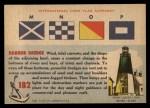 1955 Topps Rails & Sails #182   Harbor Dredge Back Thumbnail