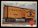 1955 Topps Rails & Sails #37   Refrigerator Car Front Thumbnail