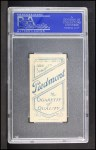 1909 T206 #64  Eddie Cicotte  Back Thumbnail