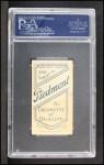 1909 T206 C Gabby Street  Back Thumbnail
