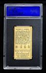 1911 T205  Rube Oldring  Back Thumbnail
