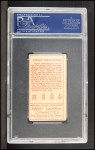 1911 T205 #19  Joe Birmingham  Back Thumbnail